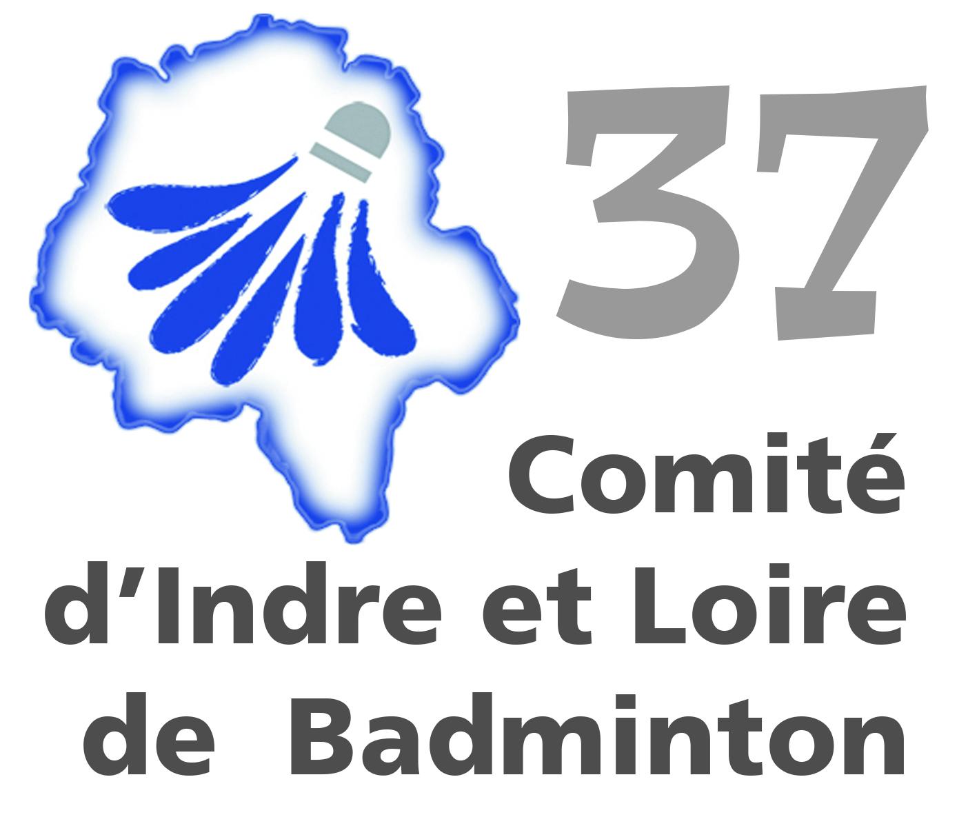 logo comité départemental badminton de l'Indre et Loire (37)