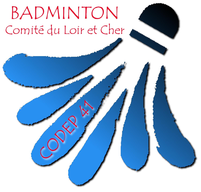 logo comité départemental badminton de l'Indre (41)